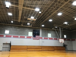 Drop ceiling in the Gymnasium.