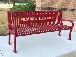 Front entryway benches