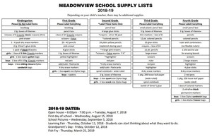 CLICK HERE 18-19 School Supply List