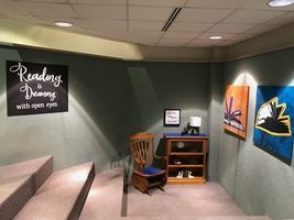Library Reading area Receives a New Look