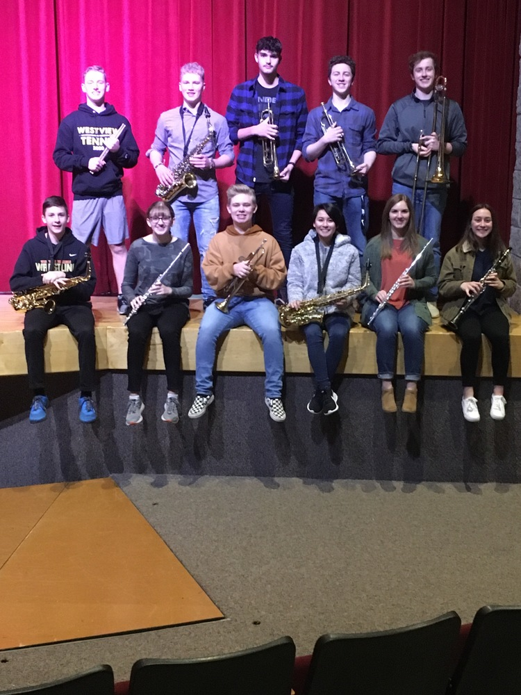 Westview Students Selected to IBA All-Region and All-District Honor Bands