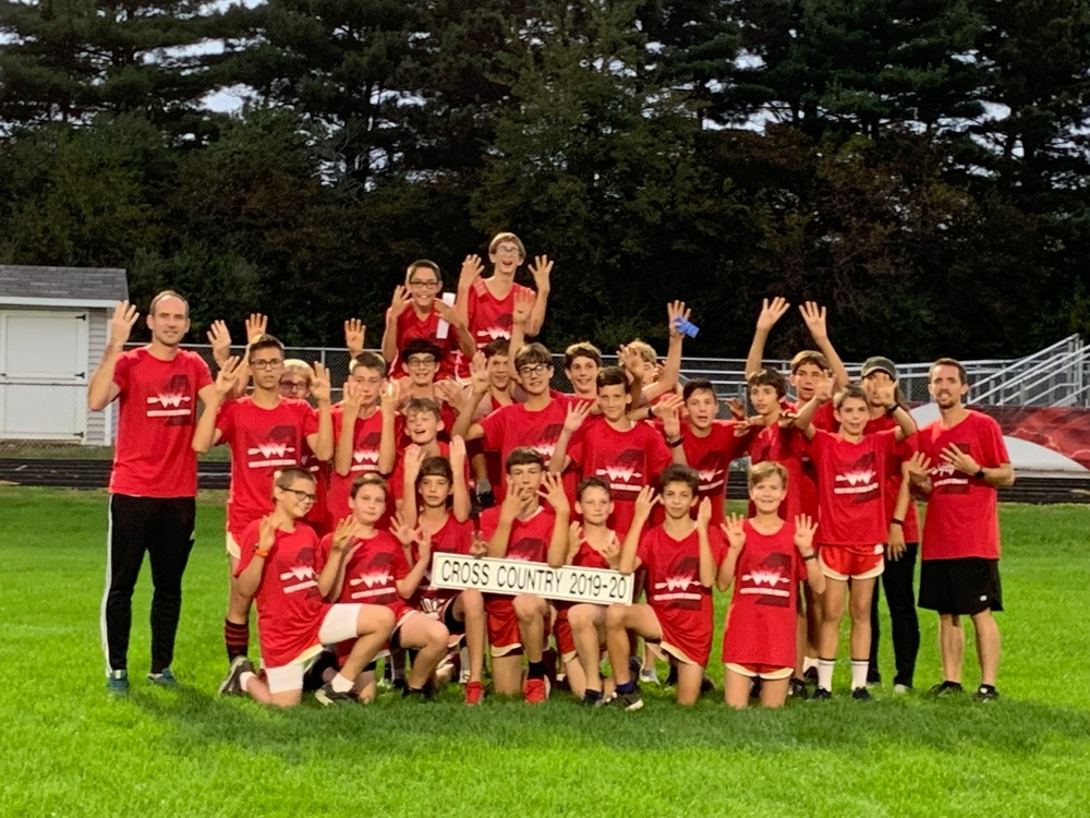 JH Boys XC Wins 8th Consecutive Conference Title