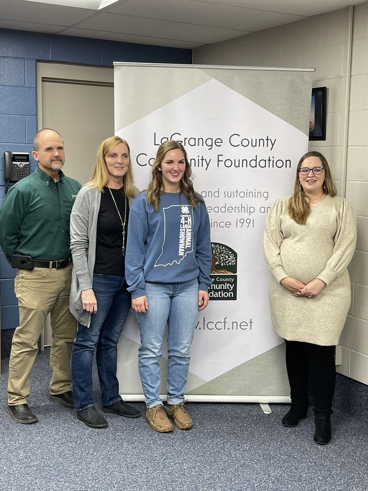 Mary Hostetler Named Recipient of the LaGrange County Lilly Scholarship