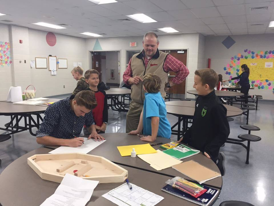 Marketing Class Helps 5th Graders