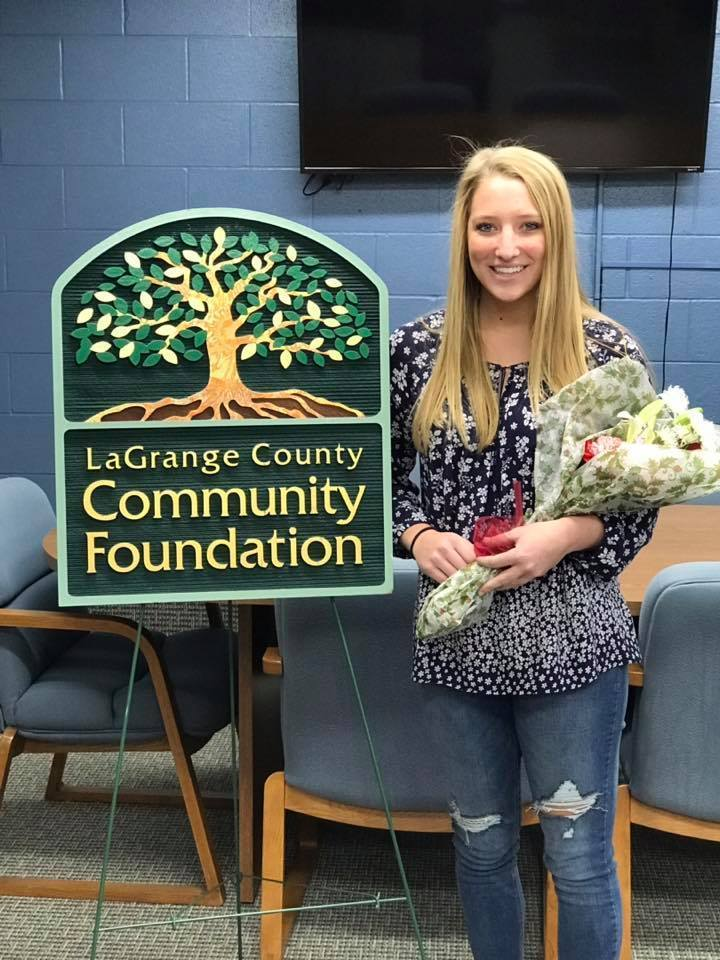 Grace Miller Wins Lilly Scholarship