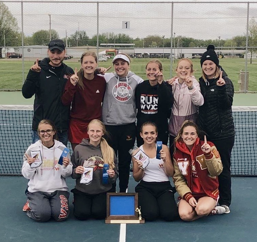 Girls Tennis Wins NECC Conference Tournament