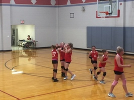 Westview 6th grade Volleyball gets first win!!