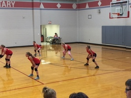 6th Grade Volleyball season is underway.