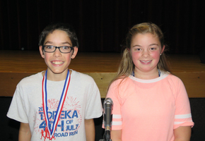2019 Westview Elementary Spelling Bee Winners