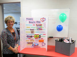 Westview Elementary Principal Honored on Bosses Day