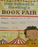 WES Follett Book Fair
