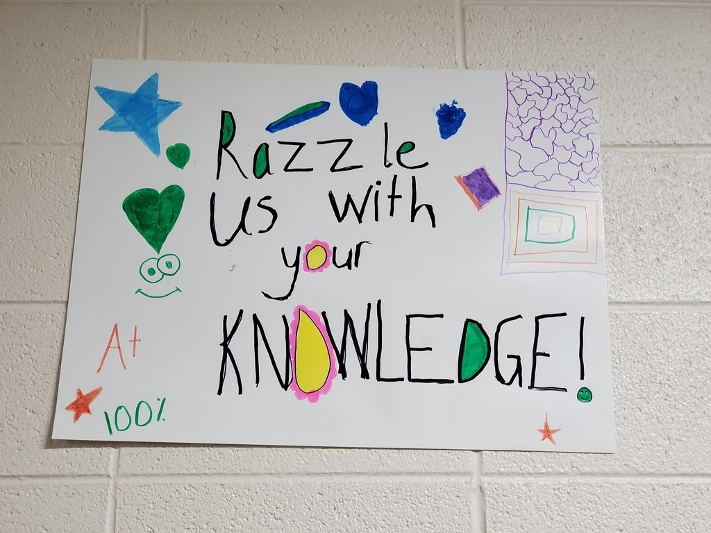 Razzle us with your Knowledge!