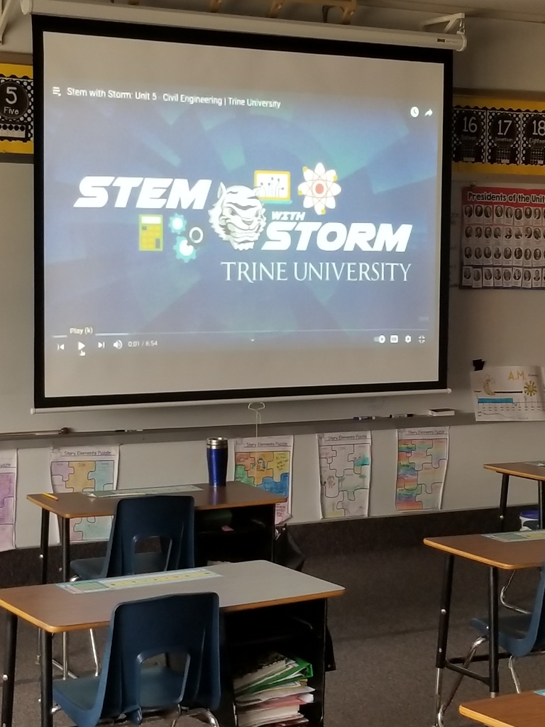 Students learning virtually with Trine University