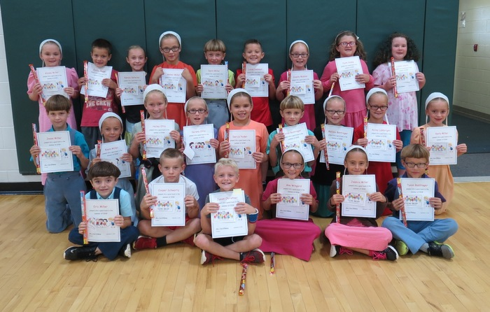 2nd graders with highest summer reading minutes