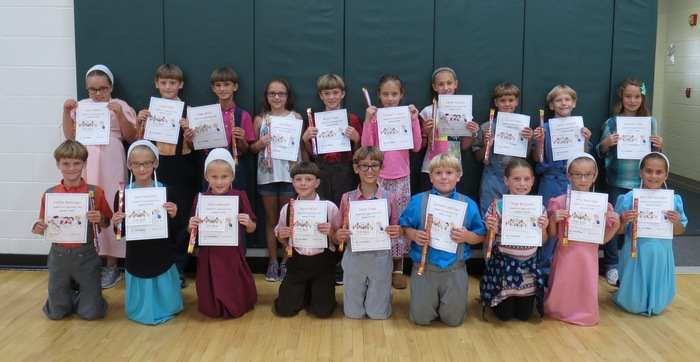 3rd graders with highest summer reading minutes