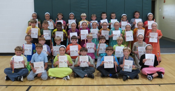 4th graders with highest summer reading minutes