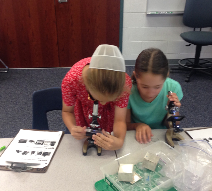 Using science instruments