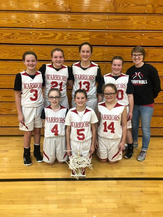 7th grade Westview Tourney Champs