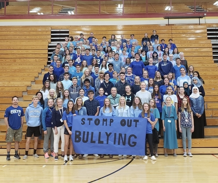#wearblue #stompoutbullying
