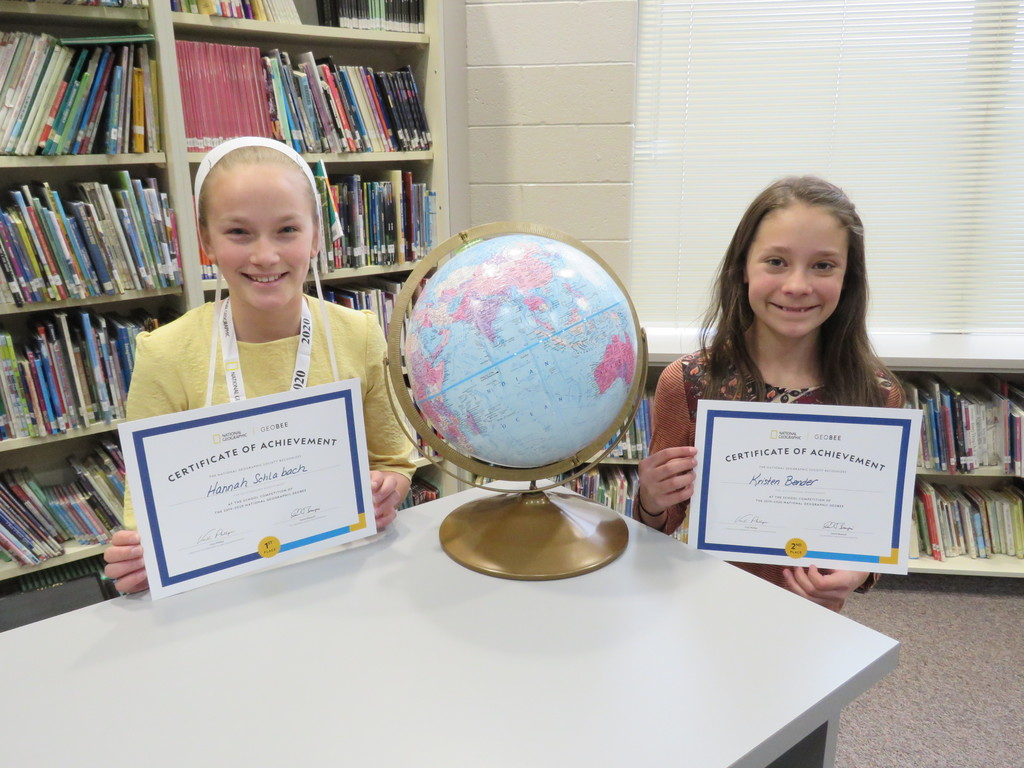Geography Bee Winners 2020