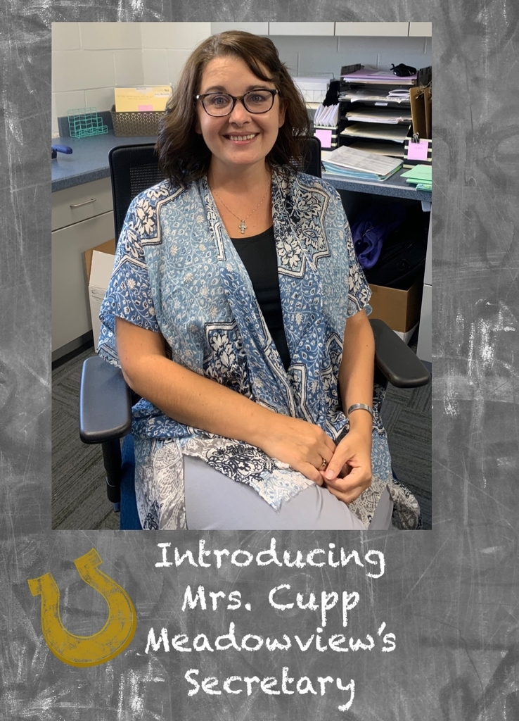 Mrs. Cupp, Meadowview Secretary